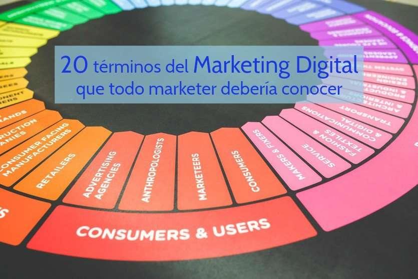 20 términos del Marketing Digital que todo marketer debería conocer